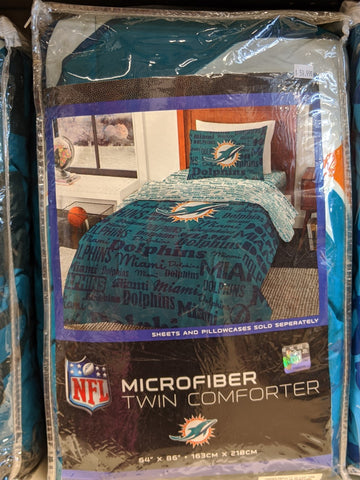 Dolphins Microfiber Twin Comforter