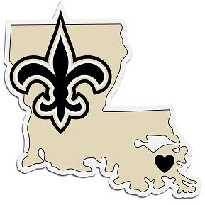 New Orleans Saints Home State Decal