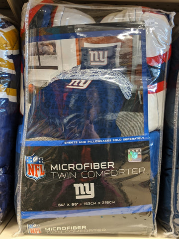 Giants Microfiber Twin Comforter