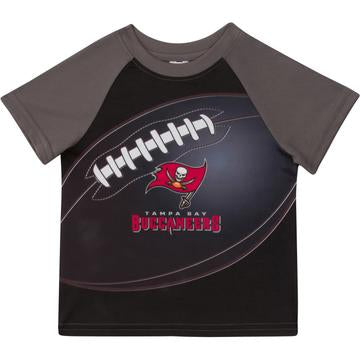 Tampa Bay Buccaneers Boys Short Sleeve Tee Shirt 4T
