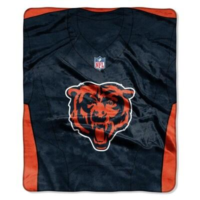 Bears -The Northwest Company 50x60 Royal Plush Raschel Jersey Throw