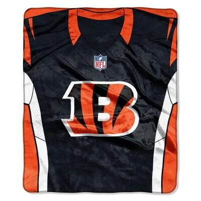 Bengals-The Northwest Company 50x60 Royal Plush Raschel Jersey Throw