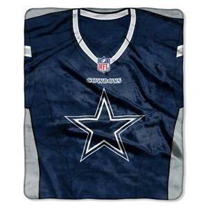 Cowboys -The Northwest Company 50x60 Royal Plush Raschel Jersey Throw