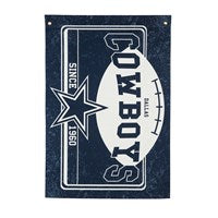 DALLAS COWBOYS LINEN ESTATE FLAG