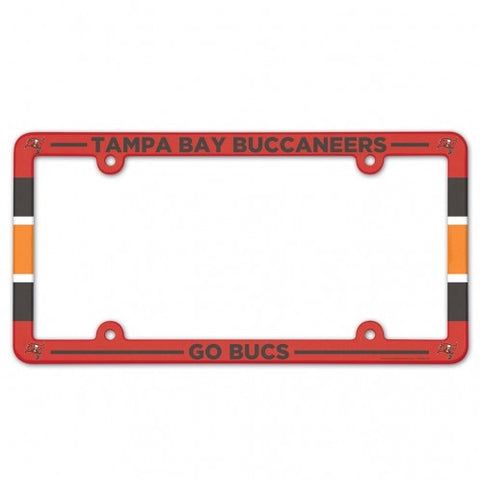 Tampa Bay Buccaneers Full Color Plastic License Plate Frame