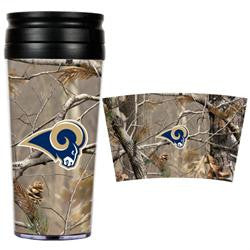 St. Louis Rams 16oz Acrylic RealTree Travel Tumbler