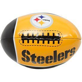 Steelers - 4 inch Quick Toss Softee Football