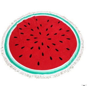 100% Cotton Bohemian Beach Towel (watermelon)