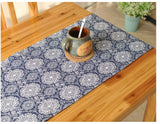 European Vintage Cotton Table Runner