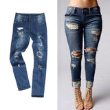 Slim Fit Ripped Jeans SZ XL