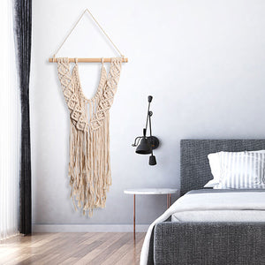 Boho Chic Large Handcrafted Macrame Wall Hanging