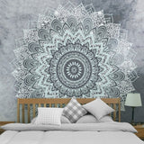 Bohemian Indian Mandala Tapestry Wall Hanging/Picnic Rug/Throw (4 Colours, 3 sizes)
