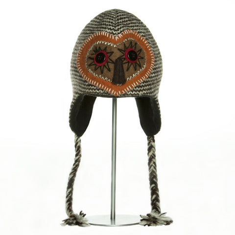 Crafty Owl Animal Hat.   Knitwits, Knit Wits, Animal Hats
