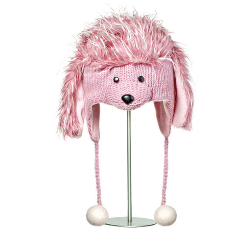 Precious the Poodle Animal Hat.   Knitwits, Knit Wits, Animal Hats