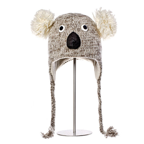 Kirby the Koala Animal Hat.  Knitwits, Knit Wits, Animal Hats