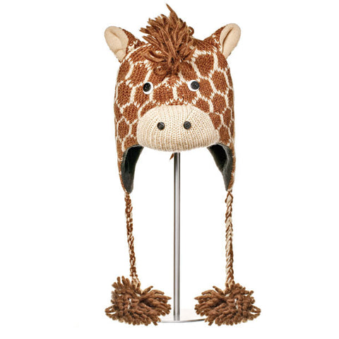 Geoff the Giraffe Animal Hat.   Knitwits, Knit Wits, Animal Hats