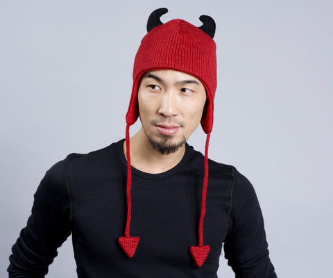 Red Devil Animal Hat