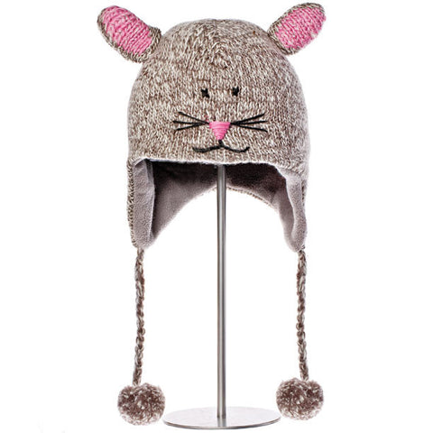 Mimi the Mouse Animal Hat.   Knitwits, Knit Wits, Animal Hats