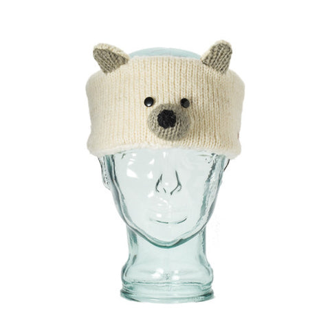 Petra the Polar Bear Headband