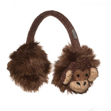 Macy the Monkey Earmuffs