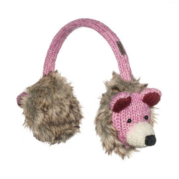 Tess the Teddy Bear Earmuffs