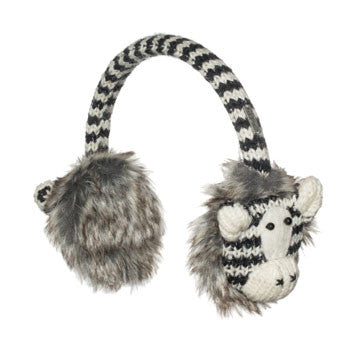 Zippy the Zebra Earmuffs