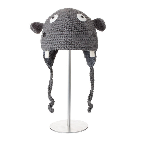 Crochet Hippo Animal Hat