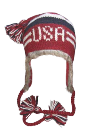 USA Fur Pilot Hat