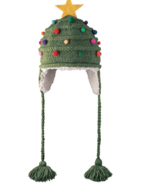 Christmas Tree Pilot Hat