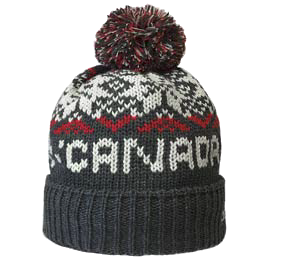 Made in Canada Snowflake Toque