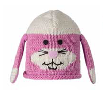 Kids Bunny Cotton Beanie