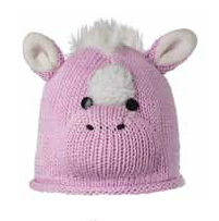 Kids Horse Cotton Beanie