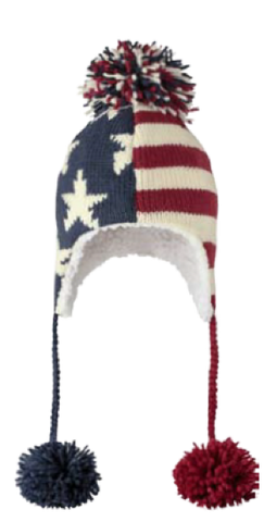 USA Flag Pilot Hat