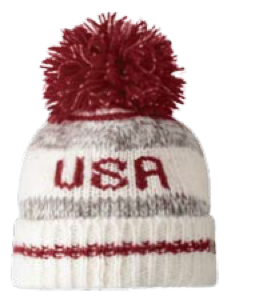 USA Redwood Beanie