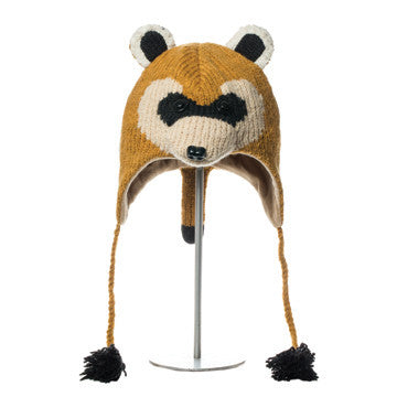 WWF Black Footed Ferret Animal Hat