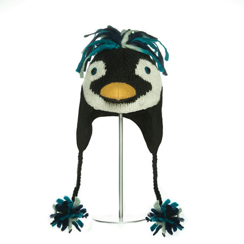 Rock Hopper Penguin Animal Hat.   Knitwits, Knit Wits, Animal Hats