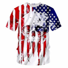 Load image into Gallery viewer, Patriotic Skull 1