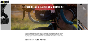 Around on Bikes: Three Clever Bags from North St. Bags