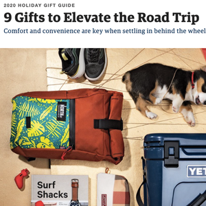 Davis Daypack in Outside's Gift Guide 2020