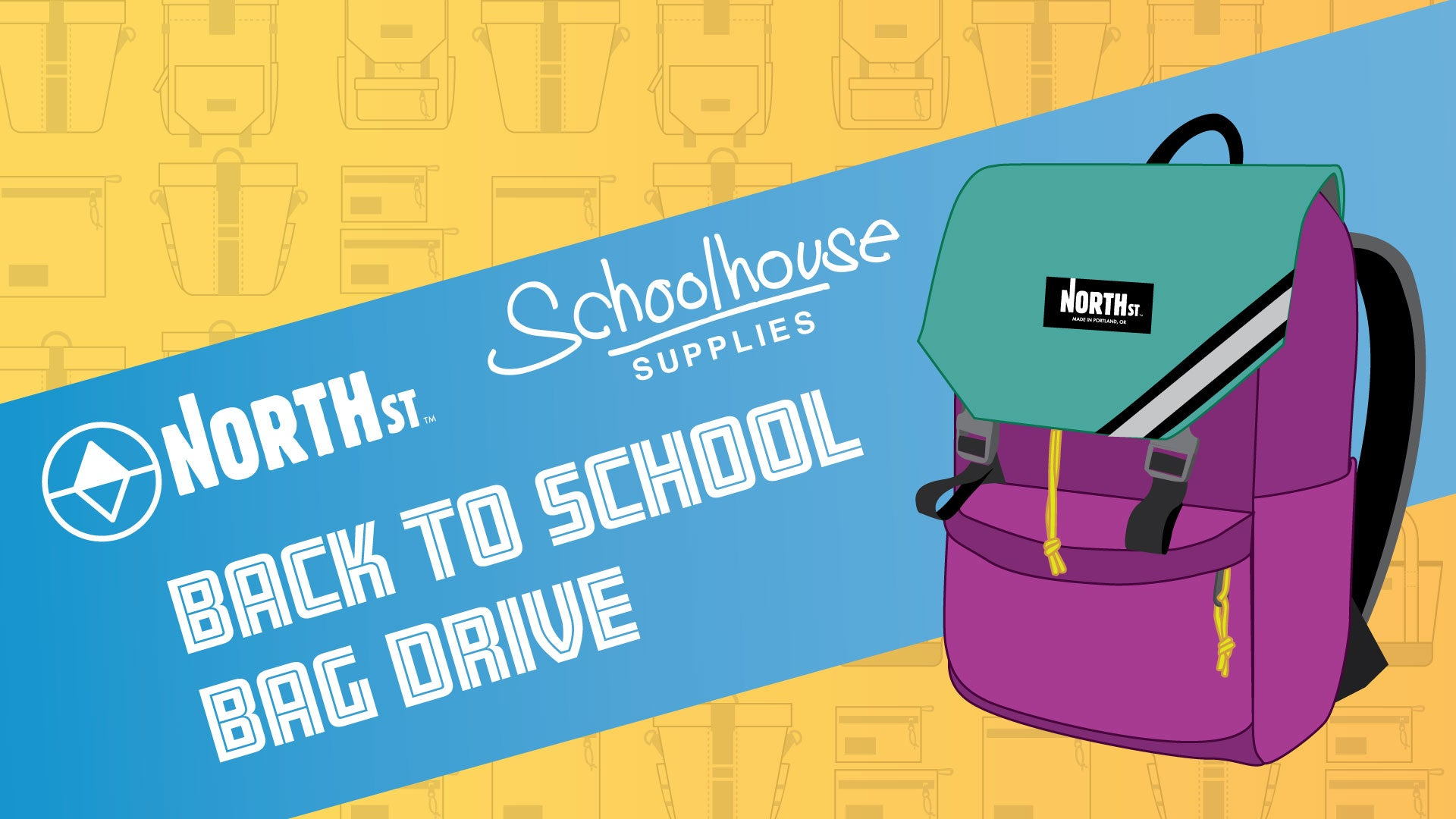 North St. Bags Back to School Bag Drive