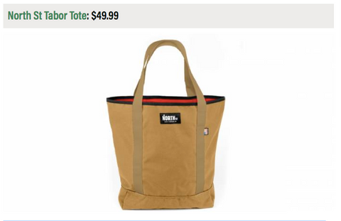 North St Bags Tabor Tote Camping Gift Guide Best Gifts for Campers