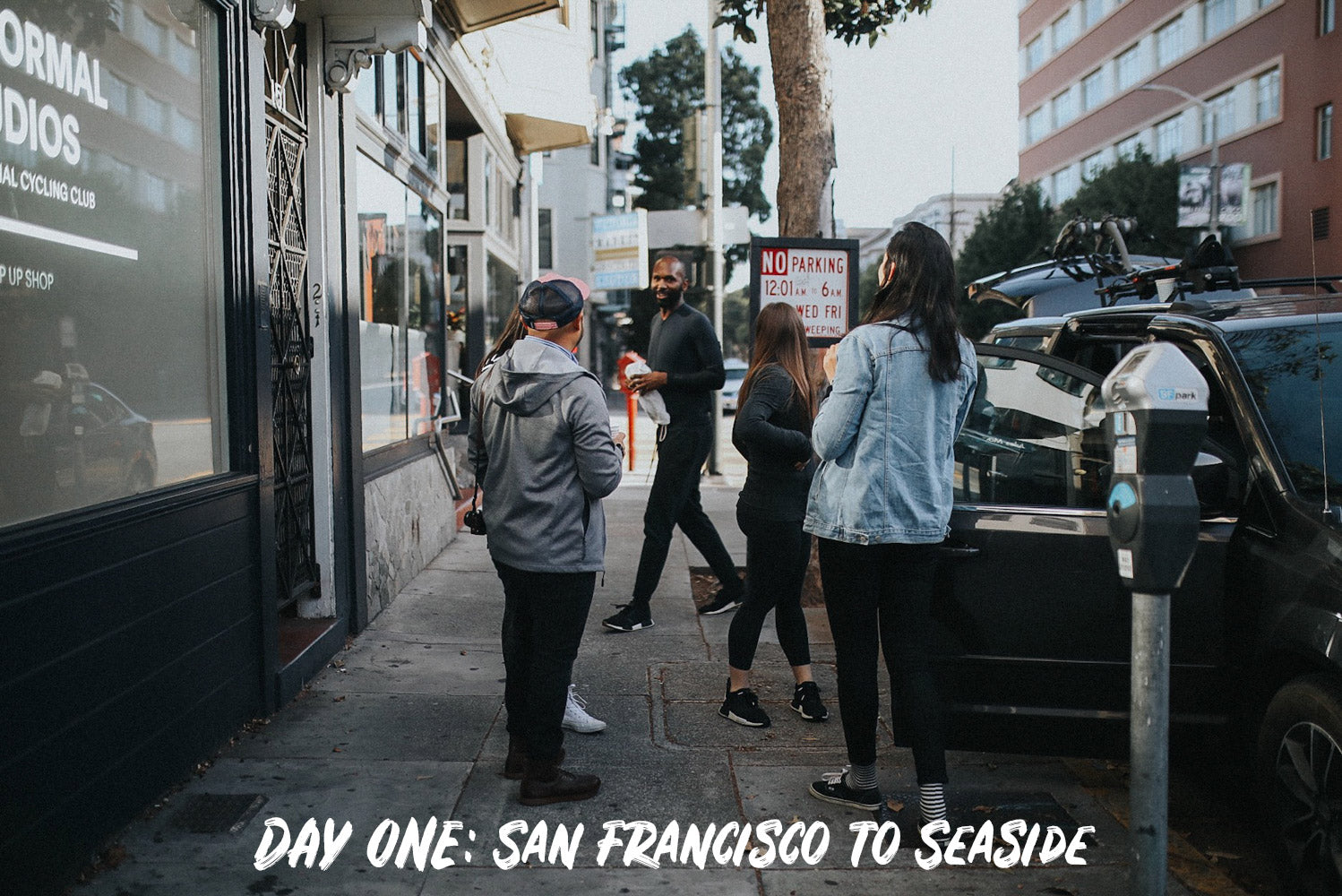 Day One: San Francisco to Seaside