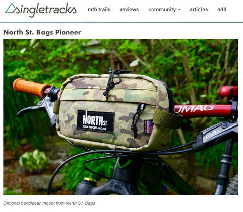 North St. Bags Pioneer 9 reviewed by Singletracks