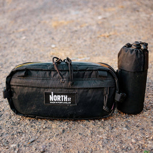 Pioneer Bottle Sleeve - VX21 Black - North St. Bags