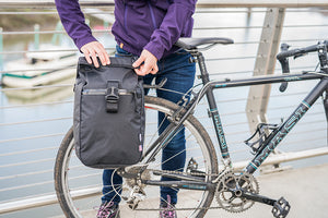 North St. Micro Pannier - X21 Slate - North St. Bags