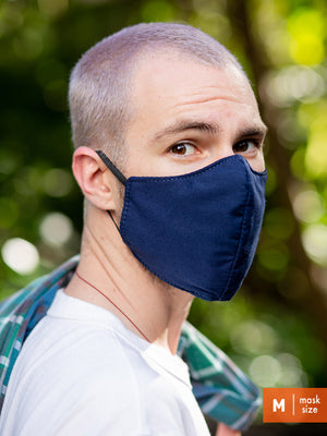 Cotton Face Mask - Casual Plaid - North St. Bags