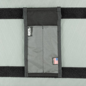 "5"" Velcro-in Pen Sleeve Pocket - North St. Bags"