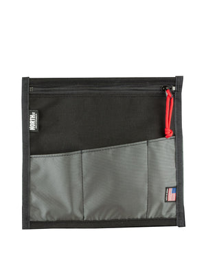 "10"" Velcro-In Organizer Pocket - North St. Bags"