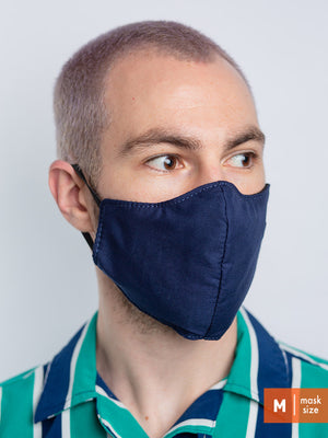 Cotton Face Mask - Solids - North St. Bags