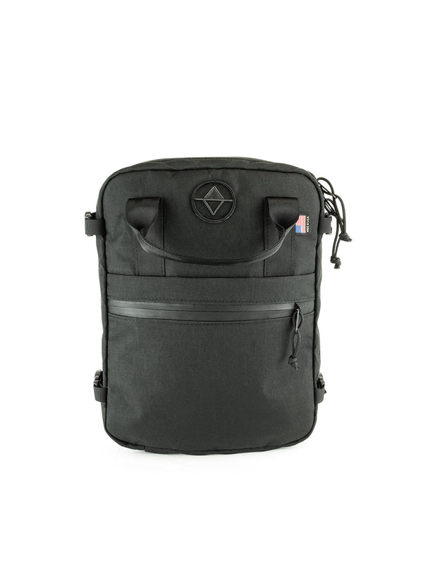 Weekender Meeting Bag - X51 Black X-Pac™️ - North St. Bags